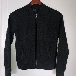 GAP textured sweat-jacket